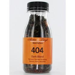 404 - Dark Blend - Thé Vert, Thé Noir & Oolong Pomme, Poire, Amaretto