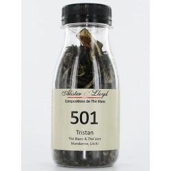 501 - Tristan - Thé Vert & Thé Blanc Mandarine, Litchi
