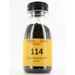 114 - Chine Yunnan FOP - Thé Noir Nature