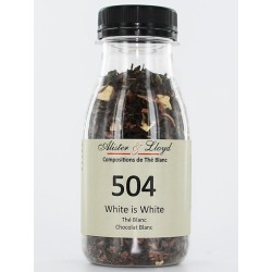 504 - White is White - Thé Blanc Chocolat Blanc