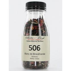 506 - Blanc de Brocéliande - Thé Blanc Pêche, Sureau