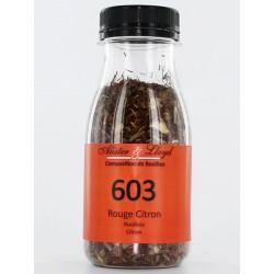 603 - Rouge Citron - Rooibos parfumé Citron