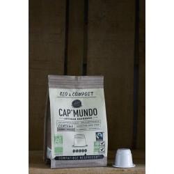 Combawa - Bio & Compost - 10 Capsules compatibles Nespresso