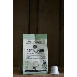 Biloba - Bio & Compost - 10 Capsules compatibles Nespresso