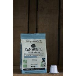 Adenia (Déca) - Bio & Compost - 10 Capsules compatibles Nespresso