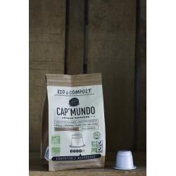 Kolli Longberry - Bio & Compost - 10 Capsules compatibles Nespresso