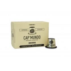 Ebène - Corsé - 10 Capsules compatibles Nespresso
