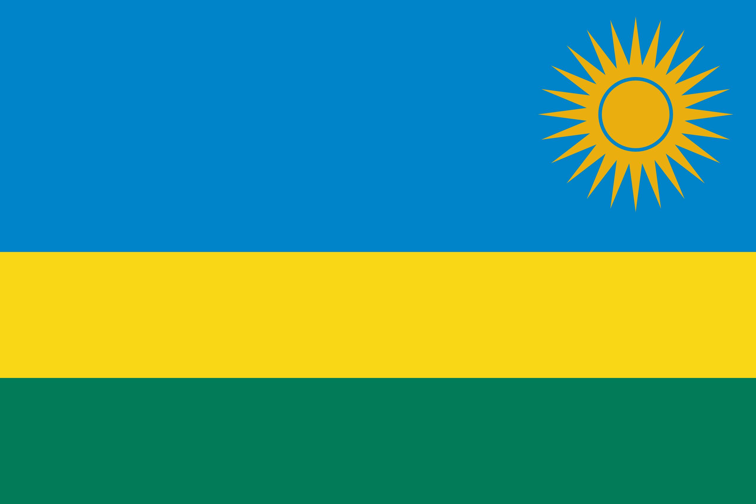 Drapeau du rwanda, café verte, café noir, café moulu