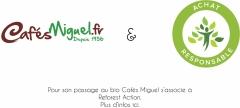Cafés Miguel s'associe avec Reforest'Action.