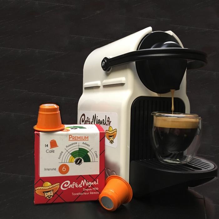 Les capsules compatibles Nespresso Cafés Miguel